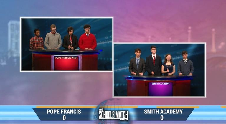 As Schools Match Wits: Pope Francis Prep vs. Smith Academy (April 4, 2020)