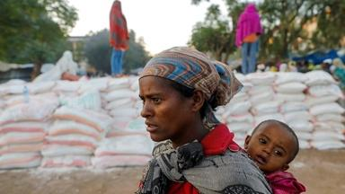Ethiopia withholding food, fuel and other aid from Tigray