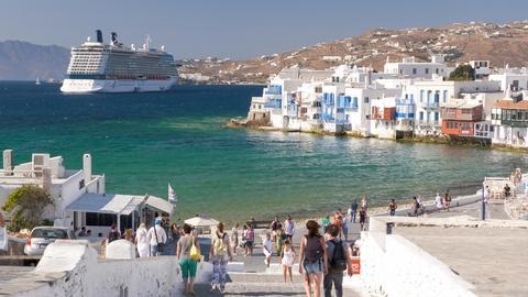 S10 E1005: Greek Islands: Santorini, Mykonos and Rhodes
