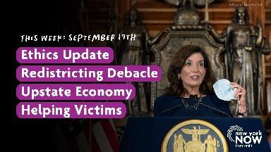 Ethics Update, Redistricting Debacle, Upstate Economy