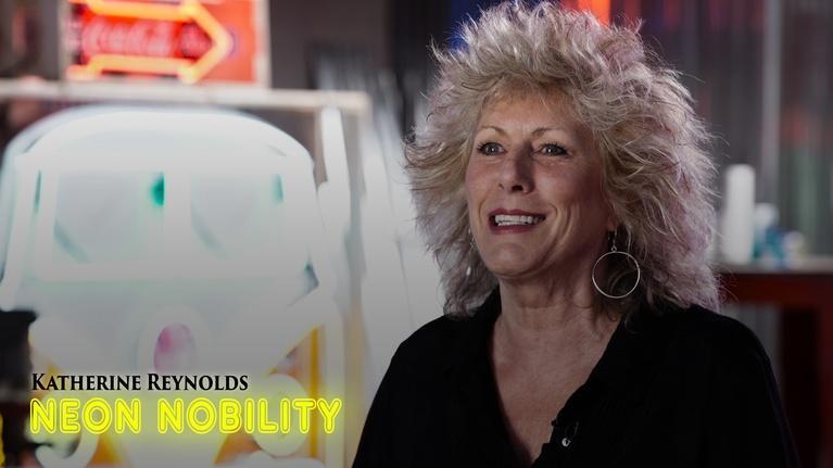 Gallery America: Katherine Reynolds: Neon Nobility | Episode 308