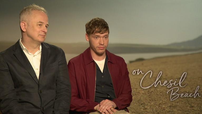 """Flicks: Billy Howle and Dominic Cooke for """"On Chesil Beach"""""""