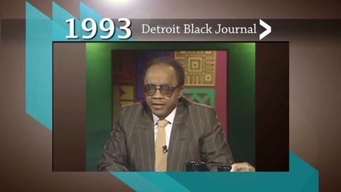 American Black Journal -- 1993 Detroit Black Journal Clip: Pension Fund Investments