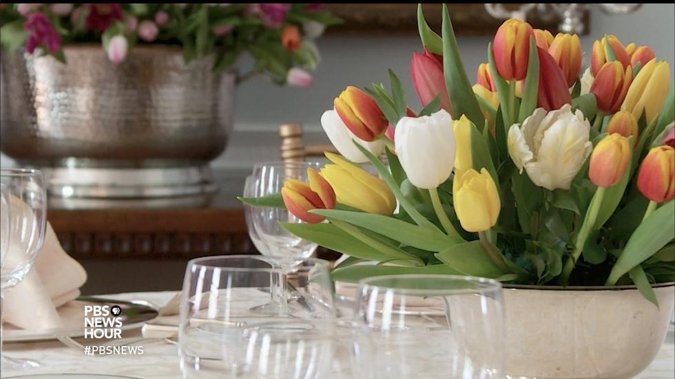 Celebrating spring with 10,000 tulips image