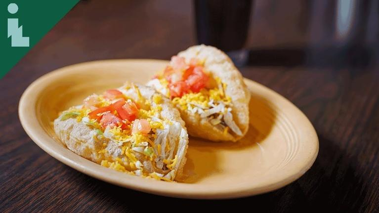Tacos of Texas: San Antonio: Puffy Tacos