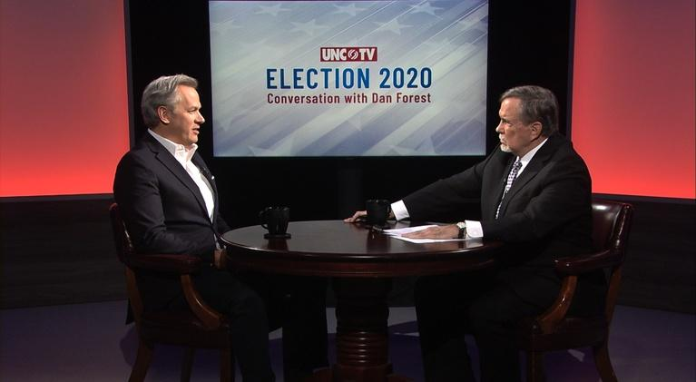 NC Channel: Election 2020: A Conversation with Dan Forest