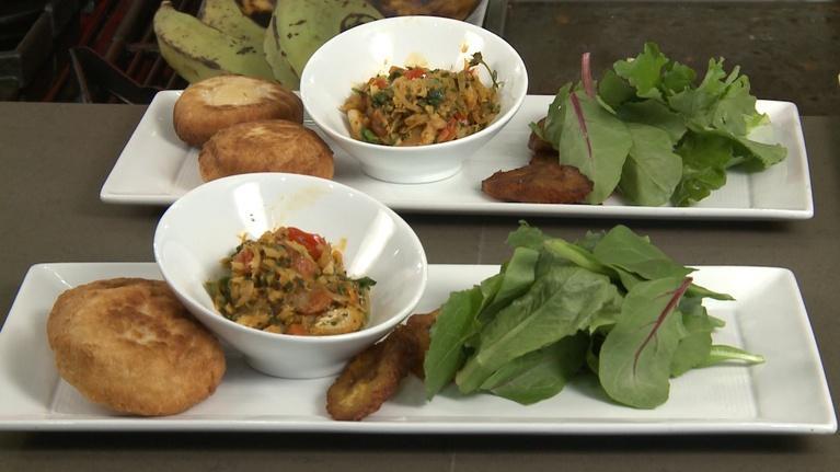 Charlotte Cooks: Caribbean Salt Fish and Bakes