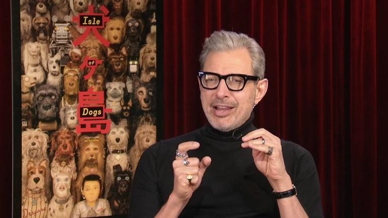 "Flicks: Jeff Goldblum for ""Isle of Dogs"""