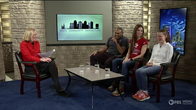 Community Connection: myTEAM TRIUMPH and Laughfest