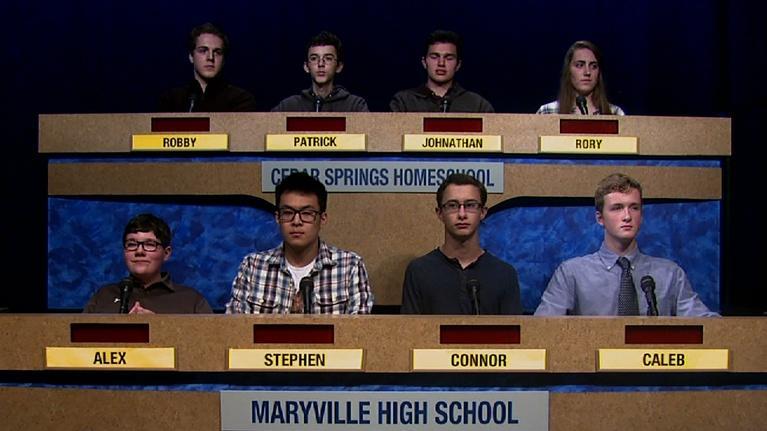 Scholars' Bowl: Cedar Springs vs Maryville