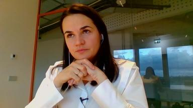 Svetlana Tikhanovskaya on the Fight Against Authoritarianism