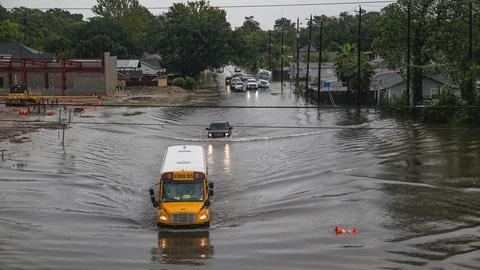 PBS NewsHour -- Houston inundated with 40 inches of rain, major flooding