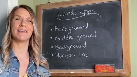 Lovely Landscapes -Natalie Steckel- Third Grade