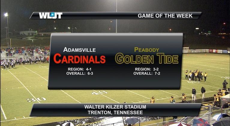 Game of the Week: Adamsville vs Peabody High School