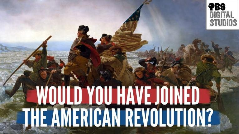 Origin of Everything: Would You Have Joined the American Revolution?