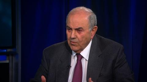 Amanpour and Company -- Ayad Allawi on Iraq's Role in US-Iran Tensions