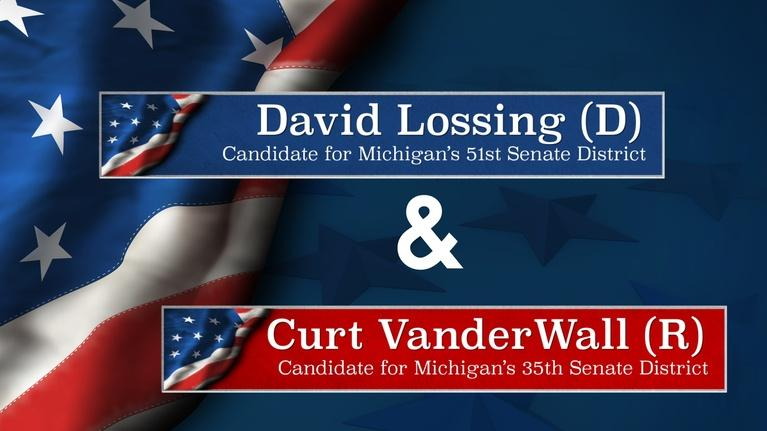 Meet the Candidates on CMU Public Television: Meet the Candidates Lossing (D-51) and VanderWall (R-35)