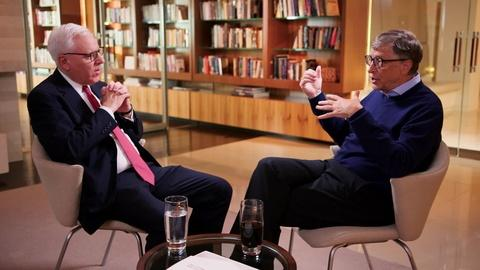 The David Rubenstein Show: Peer to Peer Conversations -- Bill Gates Interview Excerpt