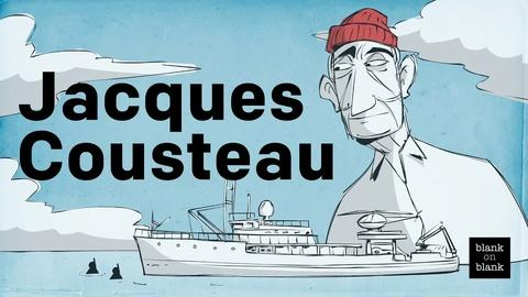 Blank on Blank -- Jacques Cousteau on Atlantis and Cognac
