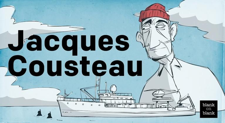 Blank on Blank: Jacques Cousteau on Atlantis and Cognac