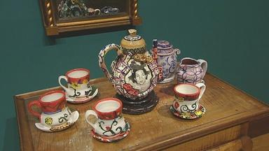 Artist upends porcelain traditions with personal roots