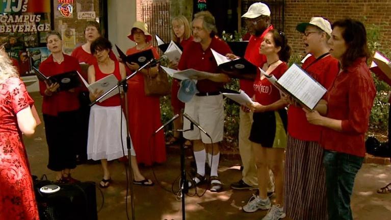 UNC-TV Arts: Arts Archive: Complaints Choir
