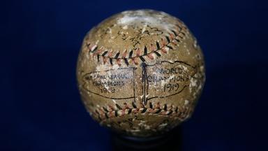 Appraisal: 1919 Cincinnati Reds Championship Baseball