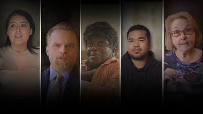 FRONTLINE   American Voices: A Nation in Turmoil