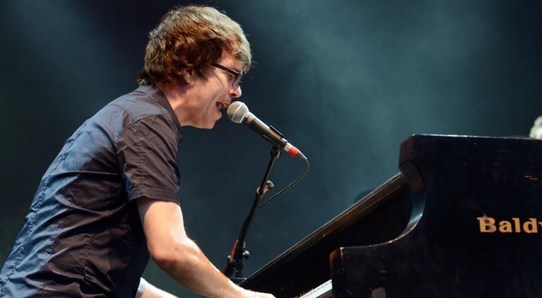 PBS NewsHour: Floating drums and lederhosen: Ben Folds' musical journey