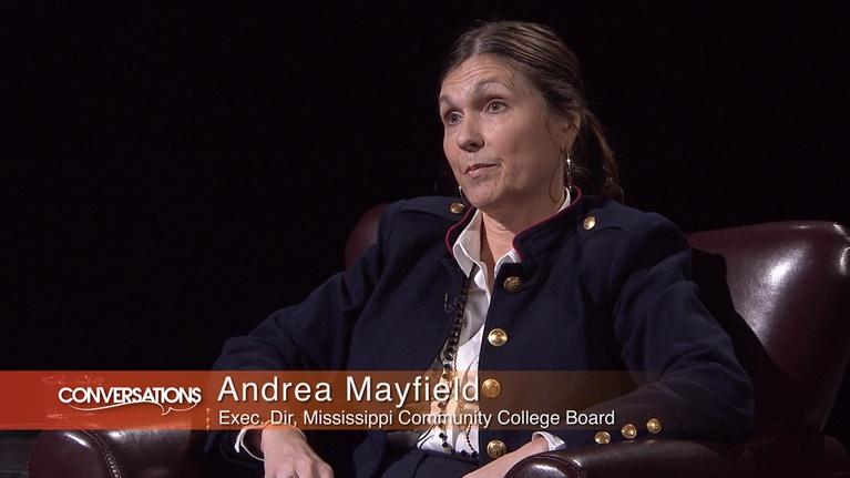 Conversations: Andrea Mayfield