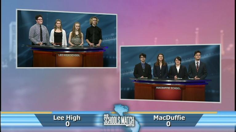 As Schools Match Wits: Lee High vs. MacDuffie School (Jan. 5, 2019)