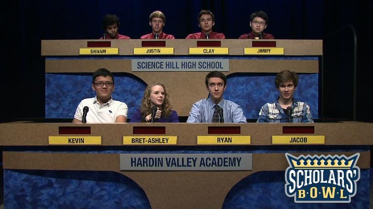 East Tennessee PBS Scholars' Bowl: Hardin Valley vs Science Hill