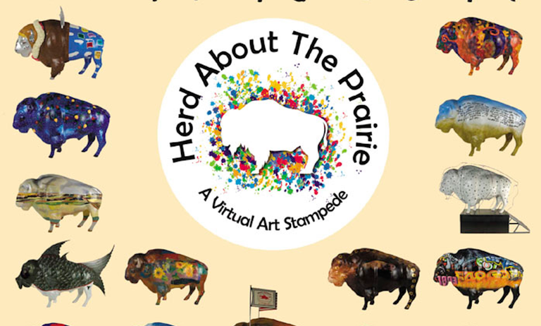 Herd About The Prairie: A Virtual Art Stampede