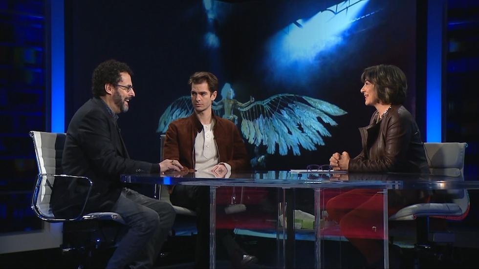 Amanpour: Tony Kushner and Andrew Garfield image