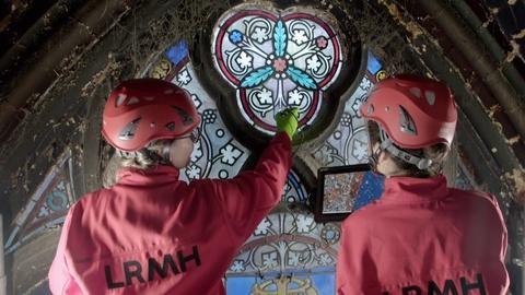 NOVA -- Saving Notre Dame's Stained Glass Masterpieces