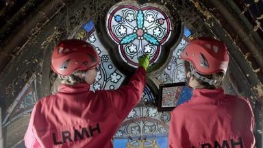 Saving Notre Dame's Stained Glass Masterpieces