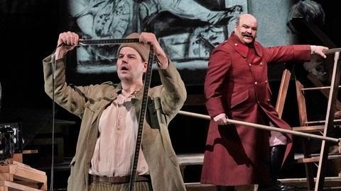 Great Performances -- Wozzeck and The Captain