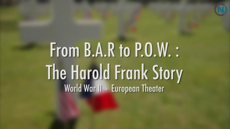 Veterans Affairs: From BAR to POW: The Harold Frank Story