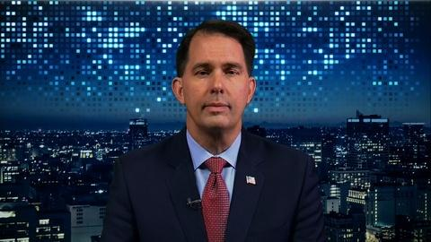 Amanpour and Company -- Scott Walker Gives the GOP Perspective on Impeachment