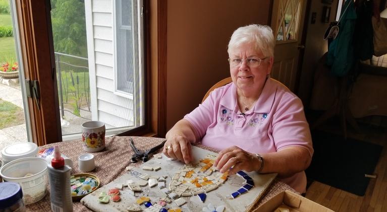Common Ground: Jane Swenson Mosaic & Richard Lane Author