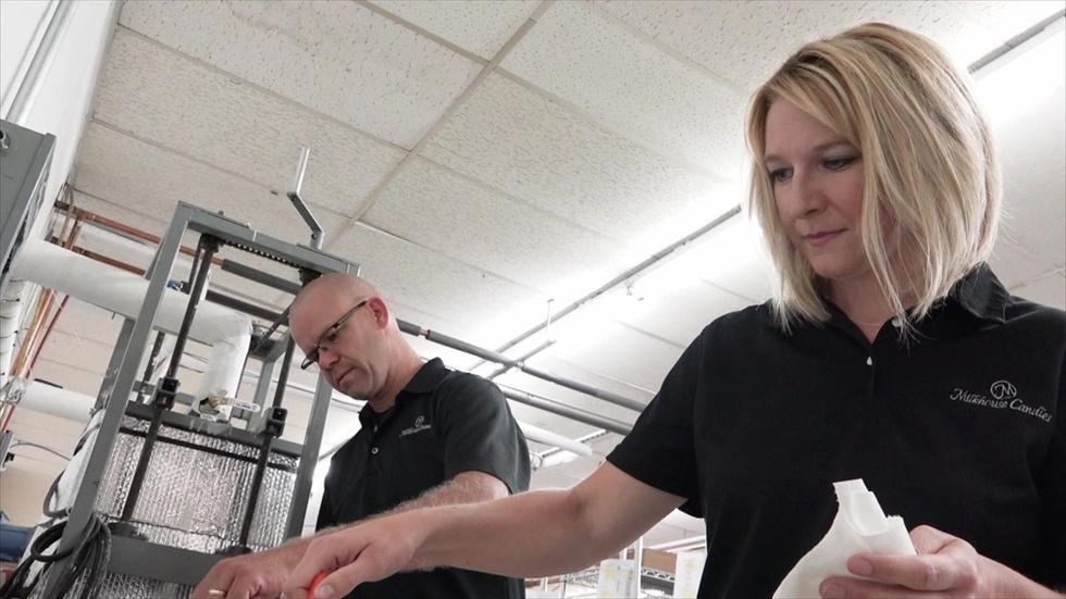 Iowa Entrepreneur: Milkhouse Candles & Aronia Berry Services image
