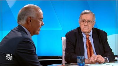 PBS NewsHour | Shields and Brooks on Trump's foreign campaign help stance