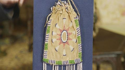 Antiques Roadshow -- Appraisal: Apache Beaded Bag, ca. 1910