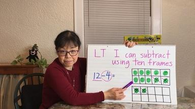 SUBTRACT USING 10 FRAMES  - English Captions