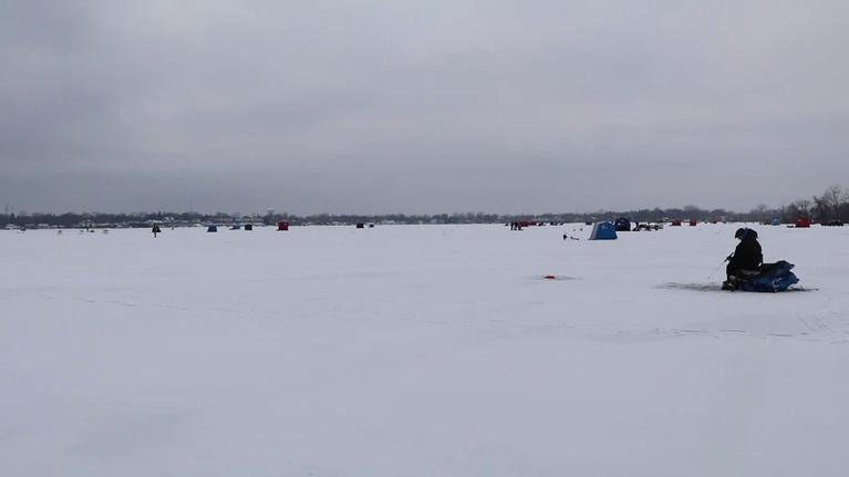 Chicago Tonight: Ice Fishing Derby Draws Hundreds to Chicago Area