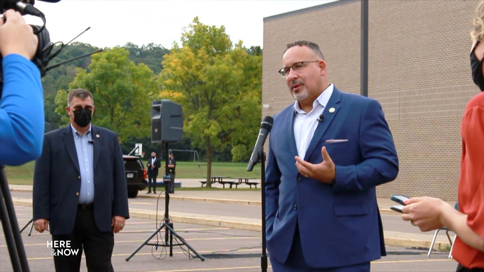 US Secretary of Education Visits Wisconsin