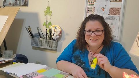 Mixed Media and Art Journaling -Lori Vilagos- Sixth Grade