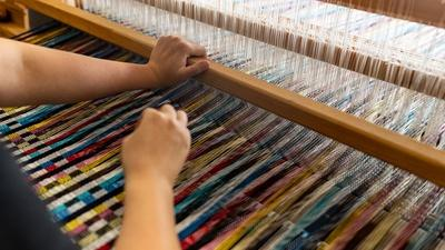 Explore weaving at Berea College
