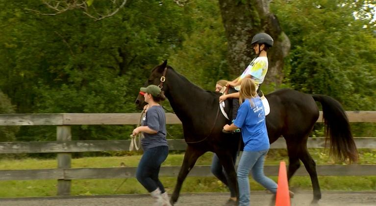 Charlottesville Inside-Out: Musician Michael Coleman / Cville Area Riding Therapy (CART)