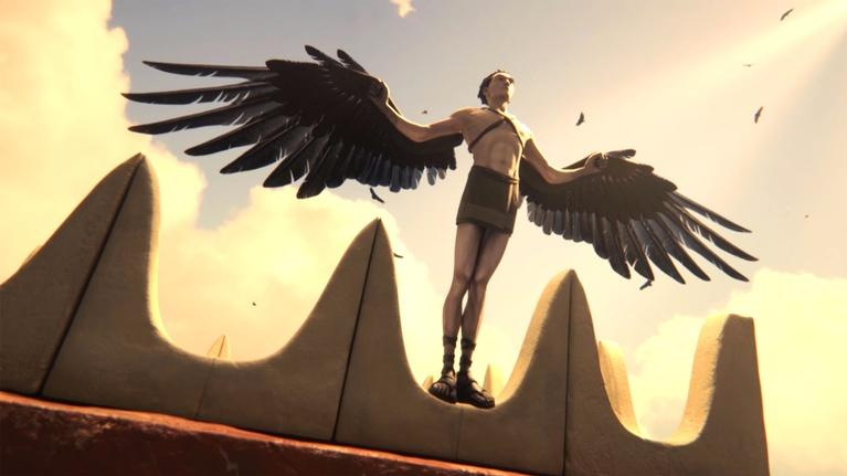 Ancient Skies: The Story of Icarus